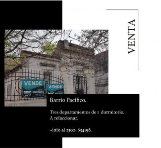 Propiedad TRES DEPARTAMENTOS EN BARRIO PACIFICO
